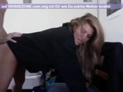 Maman blonde avec fils porn