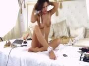Sexy mignon chambre asiatique fille adore son garçon à bangkok