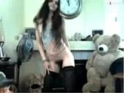 Femme qui danse twerk nue