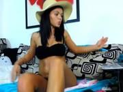 Sexy black nadia nue